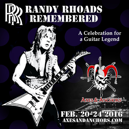 Randy Rhoads Remembered on Axes & Anchors Cruise!