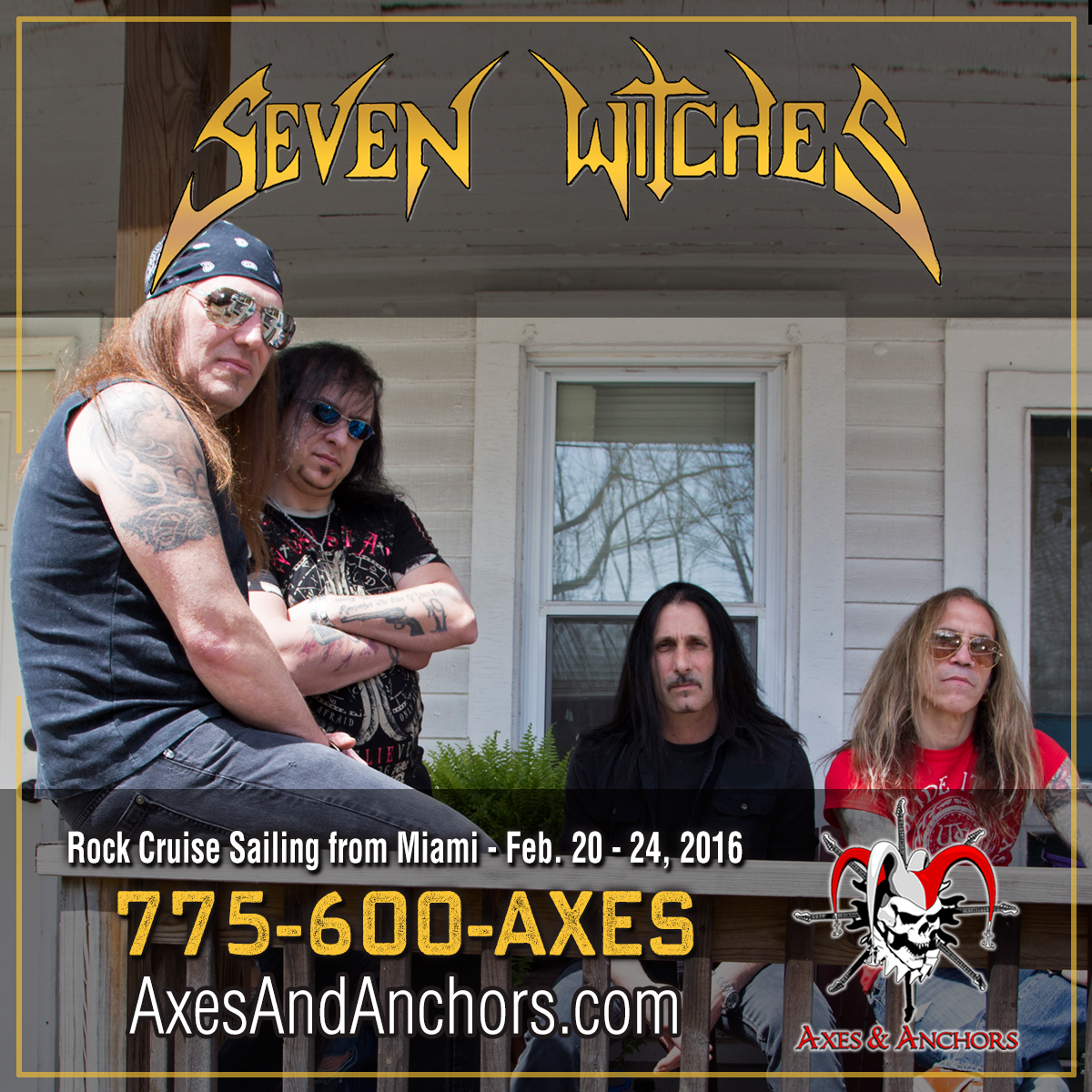 Seven Witches on Axes & Anchors Cruise!